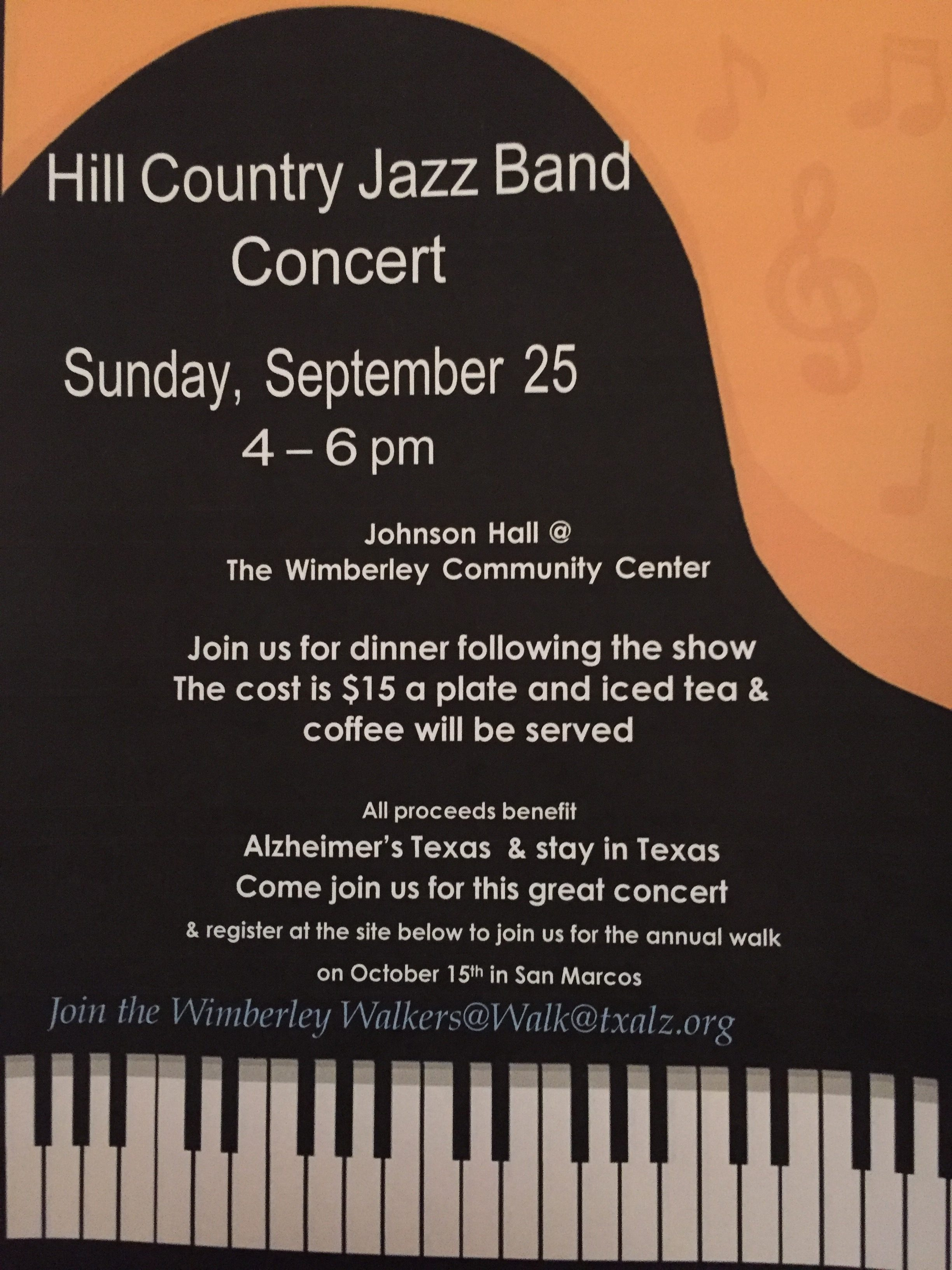 Local Jazz Band Concert